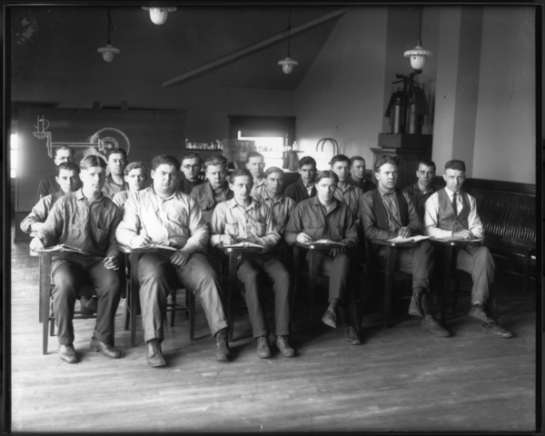 Apprentice Class at Main Office