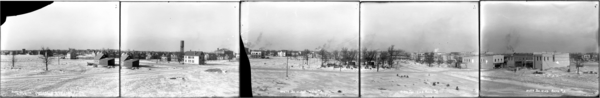 Looking North from 8th Ave and Washington St., Panorama of Gary, Plates #1-5