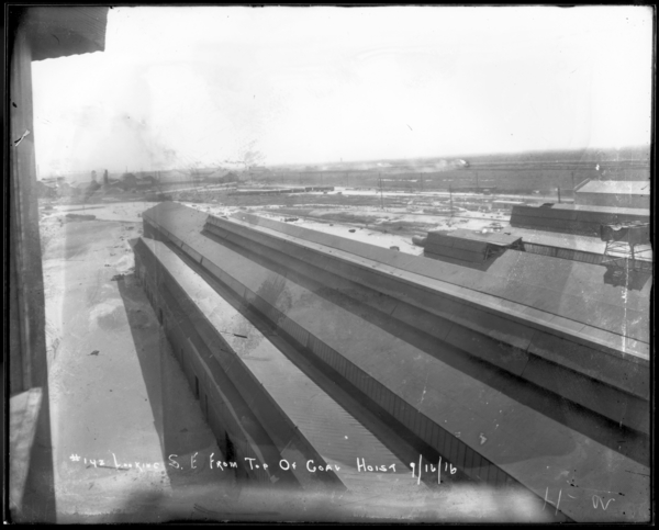 Looking S.E. from Top of Coal Hoist