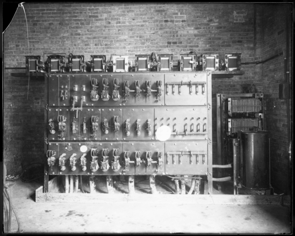#4 Blast Furnaces Switchboard and Resistance Coil; Skip Hoist House
