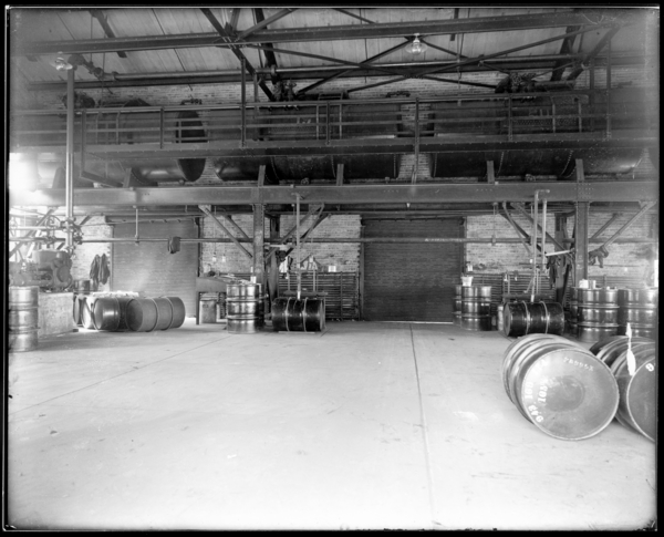 Coke Plant Shipping Building Interior