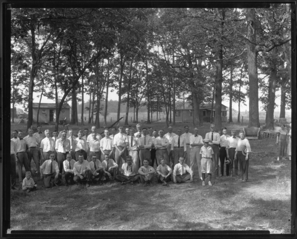 Photograph, [Group in Woods], no i.d.