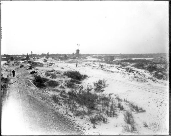 General view from point east of furnace No. 12, looking South