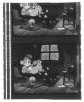Frame from animated film