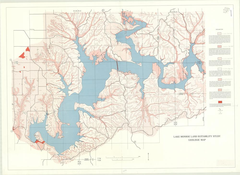 Image Collections Online Lake Monroe land suitability study