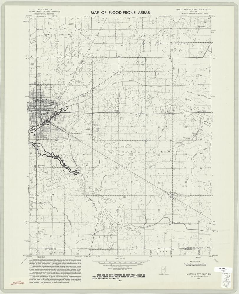 Hartford City Indiana Map.Image Collections Online Map Of Flood Prone Areas Hartford City