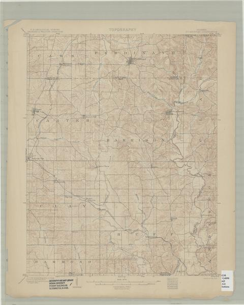 St Meinrad Indiana Map.Image Collections Online Indiana 15 Minute Series Topographic