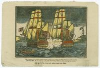 The Capture of the United States Frigate Chesapeake, of Forty nine Guns, in 15             minutes, June 1st, 1813. By his Majesty's ship Shannon, of 36 Guns, commanded by Cap.             Broke.