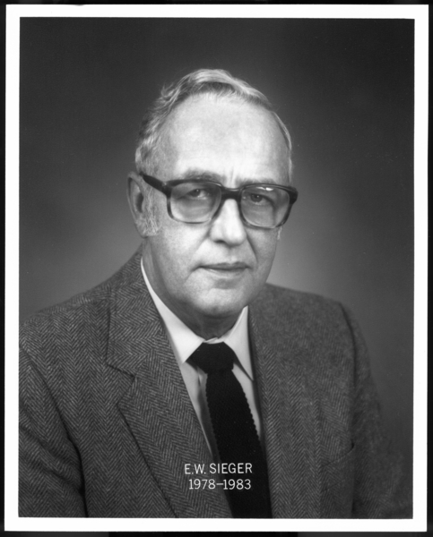 Gary Works Superintendents: E.W. Sieger, 1978-1983